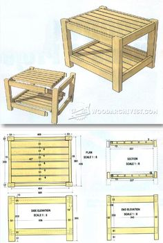 DIY Footstool - Furniture Plans and Projects   WoodArchivist.com
