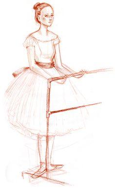 Abigail Halpin's drawing. A Bean inspiration