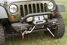 XHD Aluminum Front Bumper, Winch Mount, by Rugged Ridge only $686.88 www.eastcoastjeeps.com