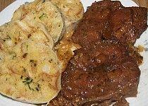 Hovězí plec pečená Food Videos, Pork, Food And Drink, Chicken, Meat, Cooking, Kale Stir Fry, Kitchen, Pork Chops
