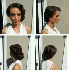 Vintage hair style ♥