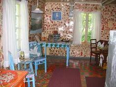 simple bohemian interior