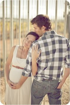 waaaay cute maternity pic by gina  That would be perfect for A & J