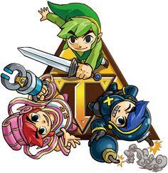 #Link 2 fom the official artwork set for the Tri Force Heroes #TFH #TLoZ #Zelda http://www.zelda-temple.net/