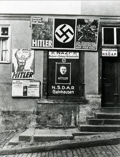 Die Kreis-Geschäftsstelle der NSDAP in Gelnhausen, 1932