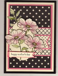 Spotty Mothers Day Card by wren61 - Cards and Paper Crafts at Splitcoaststampers