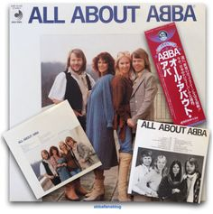 """Here is a compilation album from Japan titled """"All About Abba"""" from my collection #Abba #Vinyl #Agnetha #Frida http://abbafansblog.blogspot.co.uk/2016/02/collection-all-about-abba-album.html"""
