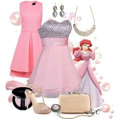 """""""Ariel - Formal - Disney's The Little Mermaid"""" by rubytyra on Polyvore"""