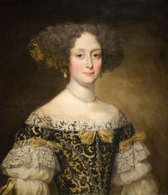 Anna Caffarelli Minuttiba        1675        Jacob Ferdinand Voet Fine Arts Museum of San Francisco.  Who was this beautiful lady?