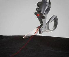 Laser Guided Scissors