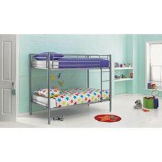 Buy Sidney Shorty Bunk Bed Frame - Silver at Argos.co.uk - Your Online Shop for Children's beds, Children's beds.