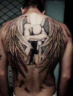 angel-tattoo-men - 60 Holy Angel Tattoo Designs  <3 <3