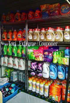 Stockpile Laundry. #Coupon #Couponing #couponmania #Stockpile #Stockpiling