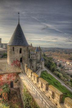 Carcassonne Castle, France #AmazingCastles