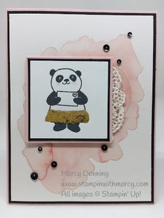 What Will You Stamp?: WWYS #154 // Party Pandas.