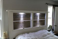 window as a headboard - Google Search