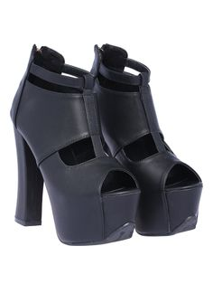 Shop Black High Heel Hollow Peep Toe Shoes online. Sheinside offers Black High Heel Hollow Peep Toe Shoes & more to fit your fashionable needs. Free Shipping Worldwide!