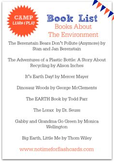 books about the environment for kids