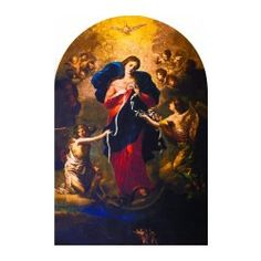 Mary Undoer of Knots Arched Magnet $6.95 #CatholicCompany