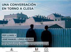 """Patrimonio Industrial Arquitectónico: Charla """"Una conversación en torno a CLESA"""", un enc..."""