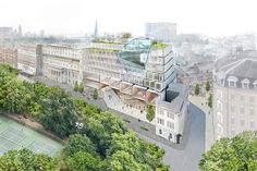 chipperfield, DS+R, and herzog & de meuron vie for LSE's paul marshall building