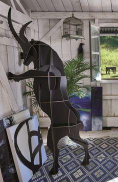 Fausto ibex wall storage by ibride #ibride #design #interior #decoration #animal #furniture #home #bookshelf www.ibride.fr