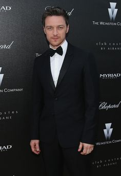 Photo: CANNES, FRANCE - MAY 17: Actor James McAvoy attends 'The Disappearance Of Eleanor Rigby' 67th Cannes Film Festival pre-screening rece...