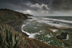 Waitakare beach, New Zealand