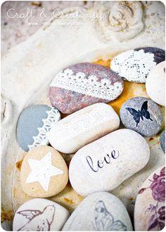 DIY - Decorated Pebbles by Craft & Creativity