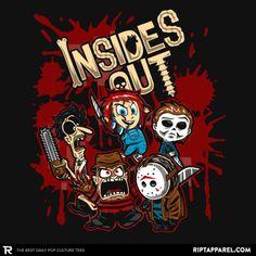 Deadly Feelings - Horror Movie Mashup T-Shirt - The Shirt List Horror Cartoon, Horror Movies Funny, Horror Movie Characters, Classic Horror Movies, Scary Movies, Iconic Movies, Disney Horror, Comedy Movies, Horror Posters
