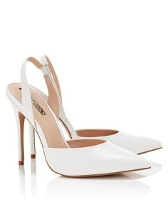 Soloro sling back court shoes, Lipsy  #wedding #shoes
