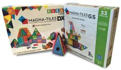 PLAY AND LEARN Math, science and creativity meet in these extremely popular 3D building tile sets for kids. Magna-Tiles are magnetic and challenge the mind of a child to create their own toys. Just for Fun Toys, 205 Mallery St., 912.638.3866.