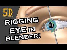 JorgeBernier5D - Eye Rigging In Blender - Tutorial - YouTube