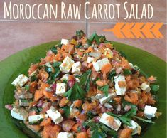 Recipe Moroccan Raw Carrot Salad by Mrs Thermovixon - Recipe of category Side dishes