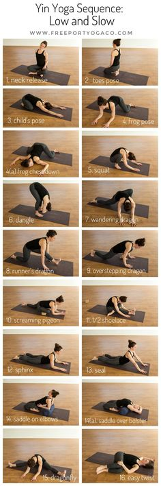 "This month's Yin Yoga Sequence is aptly titled ""Low and Slow"", inviting an. - This month's Yin Yoga Sequence is aptly titled ""Low and Slow"", inviting an earthy, grounded e - Vinyasa Yoga, Yoga Régénérateur, Yoga Yin, Sup Yoga, Yoga Moves, Ashtanga Yoga, Yoga Meditation, Restorative Yoga Sequence, Yin Yoga Poses"
