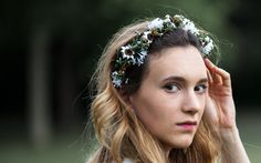 Spring Summer 2015, Flower Making, Every Woman, Floral Wreath, Key, Beauty, Collection, Women, Fashion