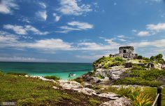 "Tulum Ruins Riviera Maya Mexico...read about it on the ""Beers and Beans"" blog."