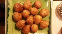 """Re-skinned Potatoes! """"These re-skinned potatoes are a delight! Crispy on the outside and soft and full of flavour on the inside""""  @allthecooks #recipe"""