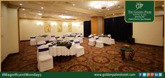 Our one-of-a-kind property offer unique venues to handle everything from private board meetings to large conferences and events, at Golden Palms Hotel & Spa, Bengaluru. Visit: www.goldenpalmshotel.com for more details #MagnificentMondays