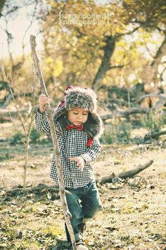 Love this outdoor look on baby/kids!  #babyfashion