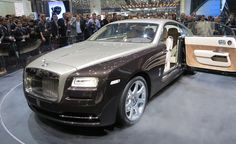 The most powerful Rolls Royce built. The Wraith lives up to its name with a 6.6L twin-turbo V12