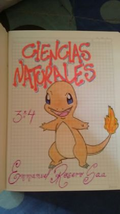 Pokemon, My Notebook, Letters And Numbers, Schools, Star, Books, Scrapbooks, Cape Clothing, Creative Notebooks