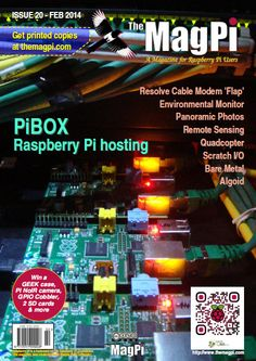 Magazine MagPi that discusses and shares resources regarding Raspberry Pi