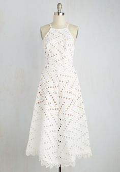 New Arrivals - Be-All East End-All Dress in White
