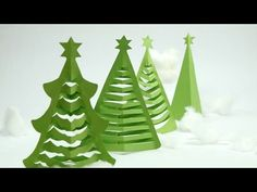 How to Make Christmas Tree in 5 Min. at Home with Origami Paper