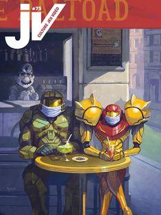 JV#75 par Gruth Comic Books, Illustrations, Comics, Cover, Art, Impressionism, Gaming, Art Background, Illustration