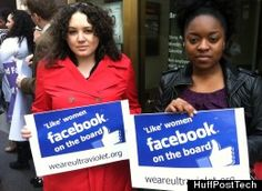 Protesters Demand Facebook Add Women To All-Male Board