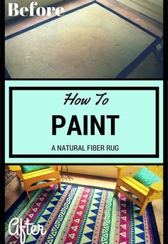 give an old rug new life by painting it, diy, porches, repurposing upcycling, reupholster