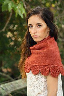 Ravelry: Wrapped in Leaves pattern by Alana Dakos
