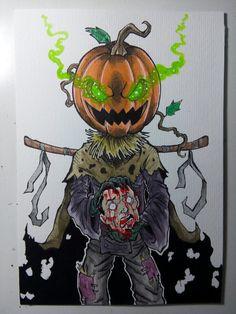 Jack-O Watercolor